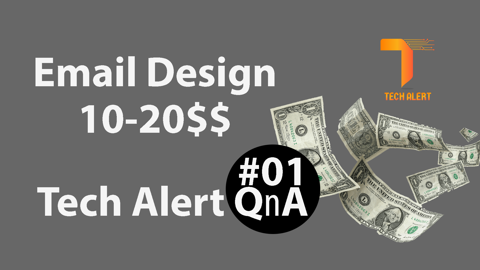 Email Template Design by Tech Alert QnA